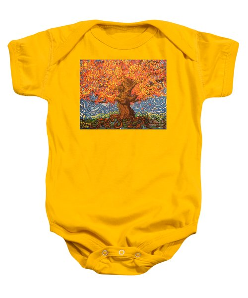 Healthy At Home Tree Baby Onesie