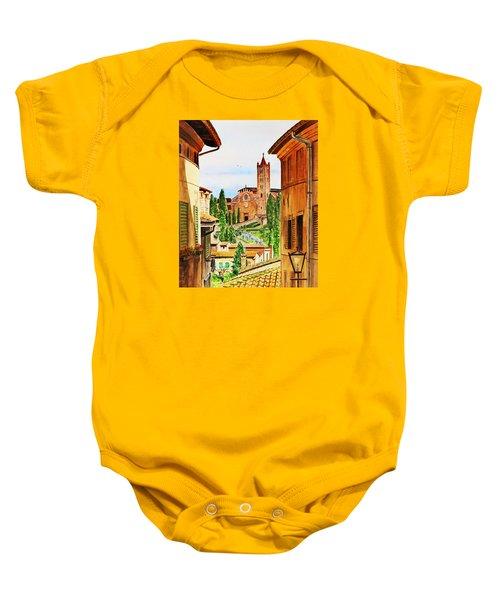 Italy Siena Baby Onesie