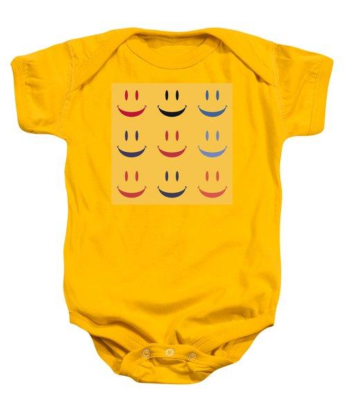 Just Smile Baby Onesie