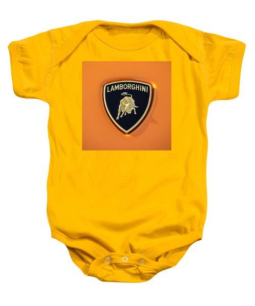 Lamborghini Emblem -0525c55 Baby Onesie