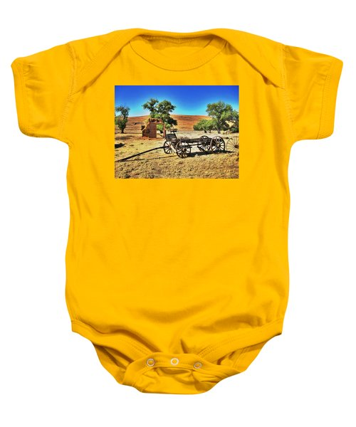 Late For Market Baby Onesie