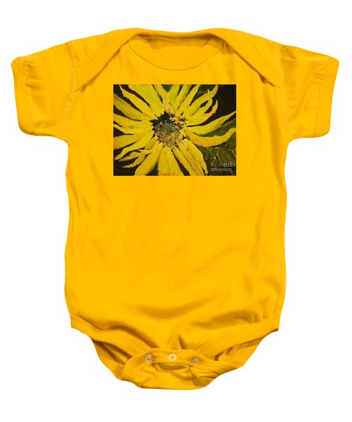 Linda's Arizona Sunflower 2 Baby Onesie