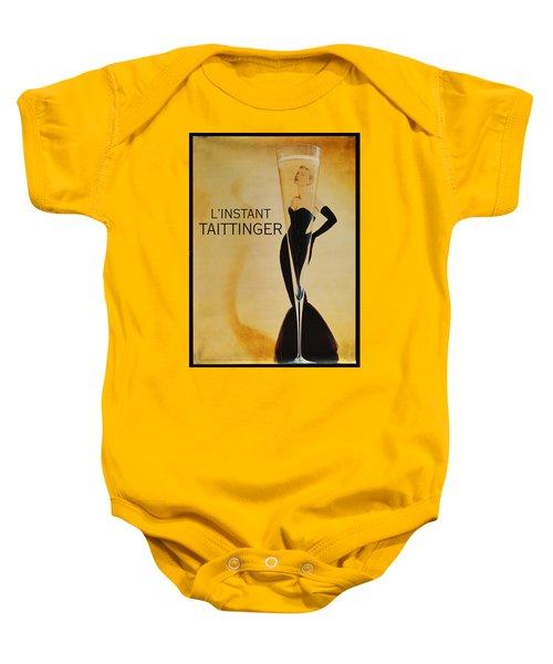 L'instant Taittinger Baby Onesie