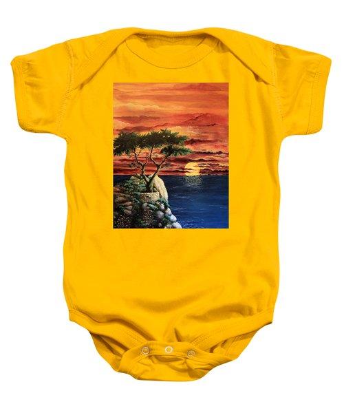 Lone Cypress Baby Onesie