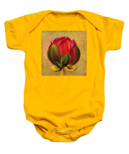 Lotus Bulb Baby Onesie
