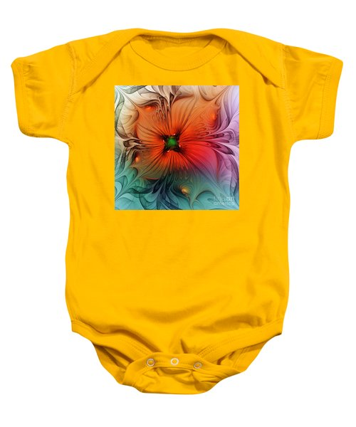 Luxury Blossom Dressed In Velvet And Silk Baby Onesie