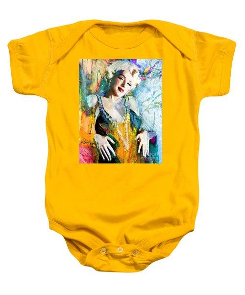 Marilyn Monroe 126 E Baby Onesie