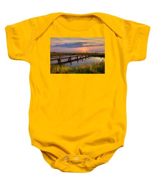 Marsh Harbor Baby Onesie
