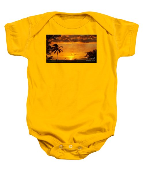 Maui Sunset Dream Baby Onesie