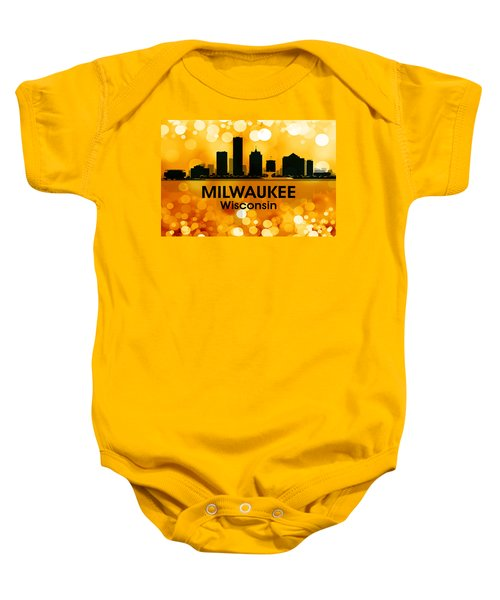 Milwaukee Wi 3 Baby Onesie