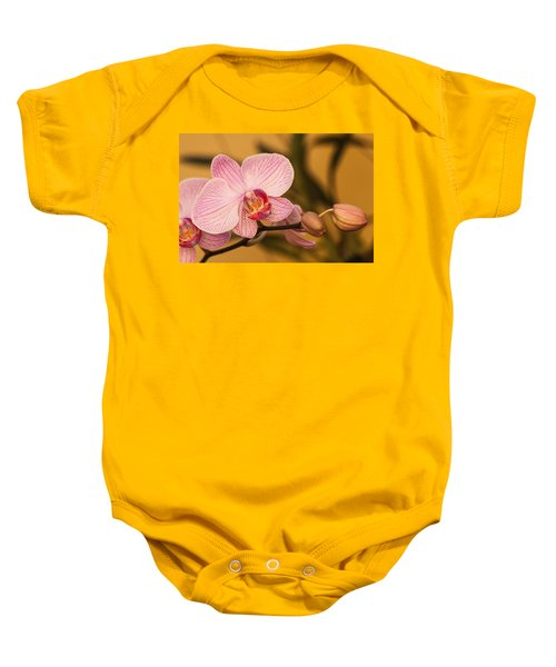 Moth Orchid Baby Onesie