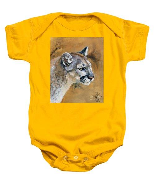 Mountain Lion Baby Onesie
