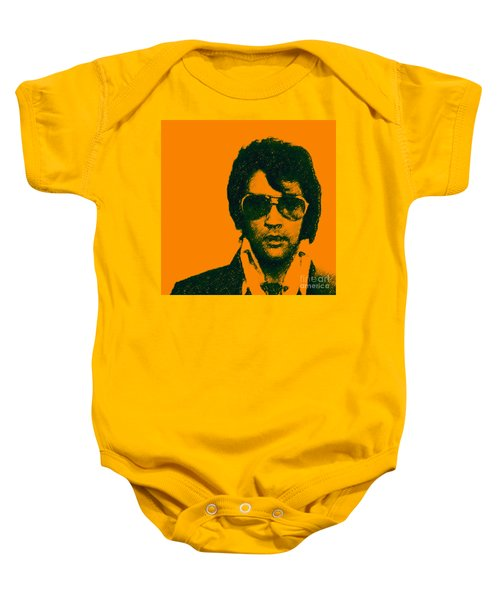 Mugshot Elvis Presley Square Baby Onesie