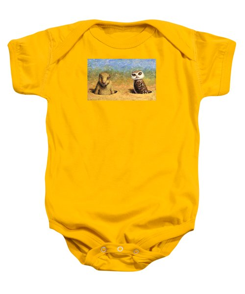 Neighbors Baby Onesie by James W Johnson
