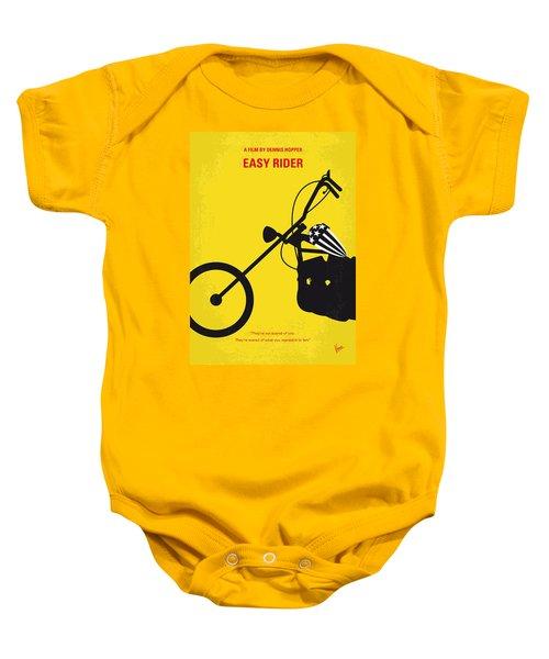 No333 My Easy Rider Minimal Movie Poster Baby Onesie