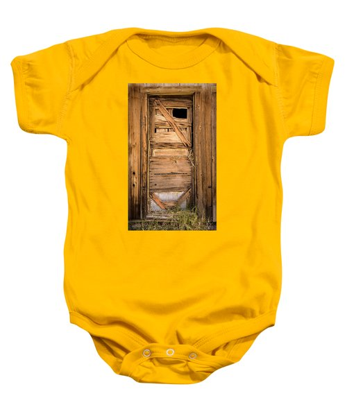 Old Door Baby Onesie