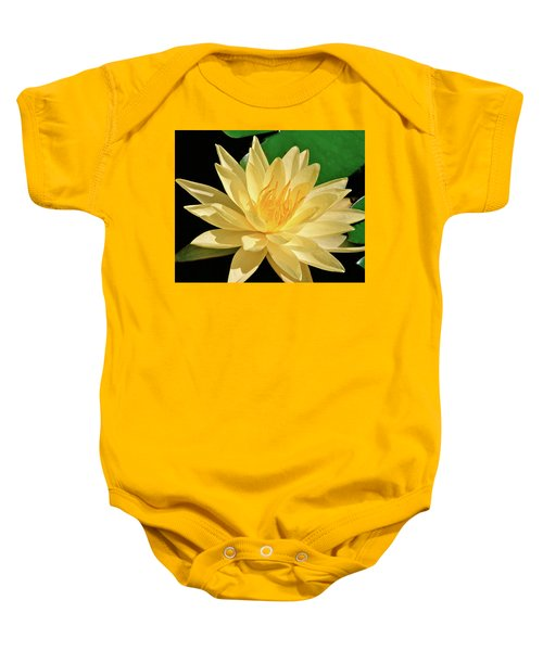 One Water Lily  Baby Onesie
