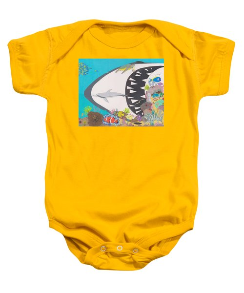 Pacific Peril Baby Onesie