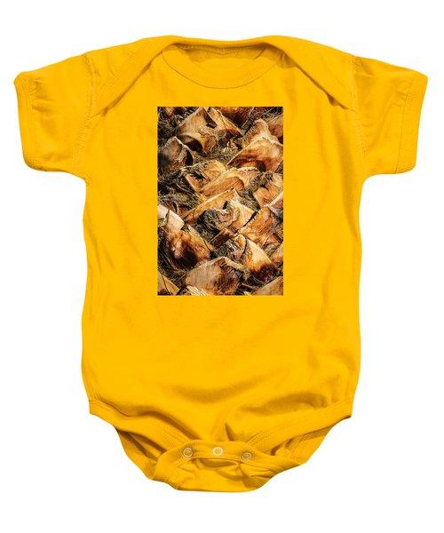 Palm Bark Baby Onesie