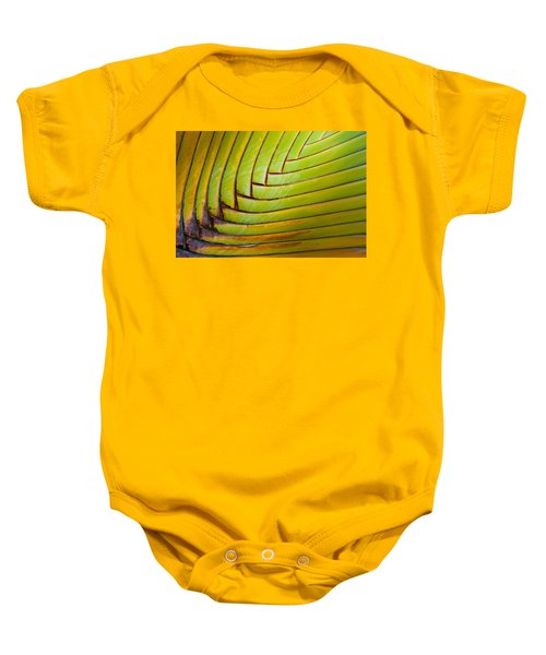 Palm Tree Leafs Baby Onesie