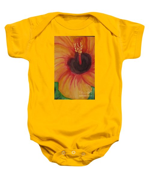Passion Flower Baby Onesie