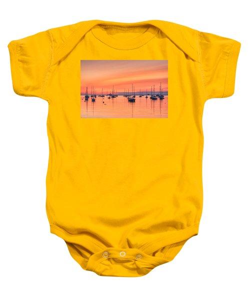 Pastel Harbor Baby Onesie