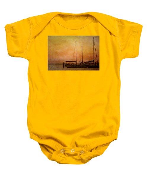 Pensacola Harbor Baby Onesie
