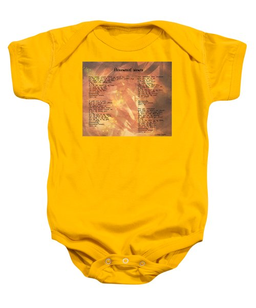 Phenomenal Woman -golden Stars Baby Onesie