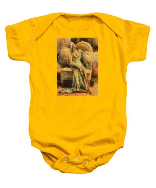 Portrait Of Jean Harlow Baby Onesie