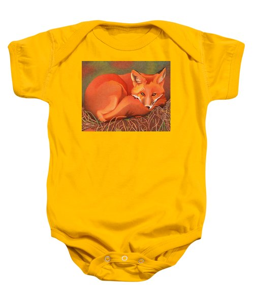 Red Fox Baby Onesie