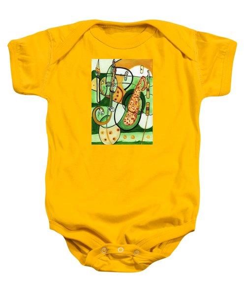 Reflective #9 Baby Onesie