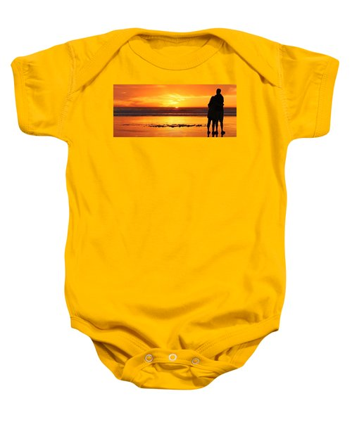 Romantic Sunset  Baby Onesie