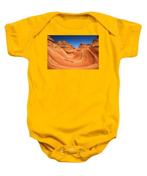 Sandstone Surf Baby Onesie