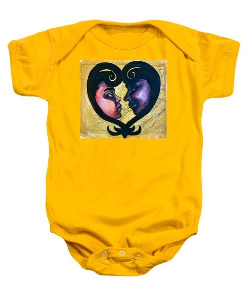 Sankofa Love Baby Onesie