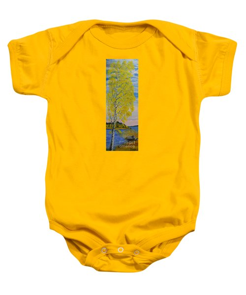 Seascape From Baltic Sea Baby Onesie