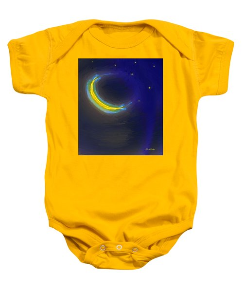 Seven Stars And The Moon Baby Onesie