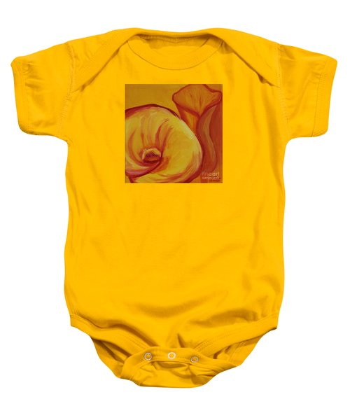 Shadow Lily Baby Onesie