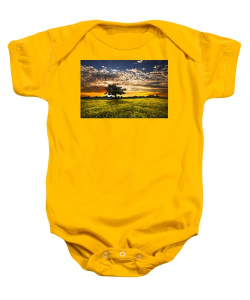Shadows At Sunset Baby Onesie