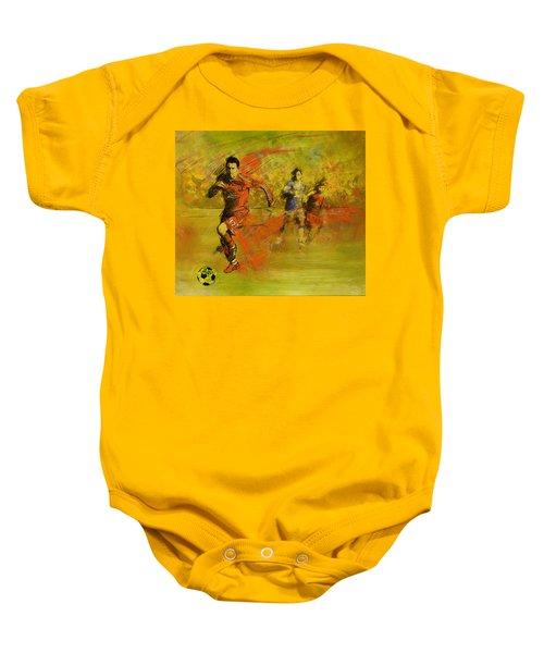 Soccer  Baby Onesie