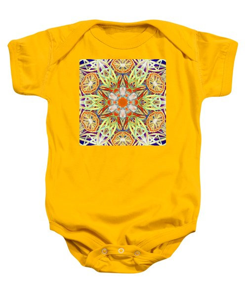 Solar Lattice Baby Onesie