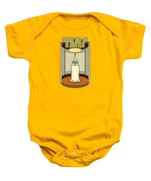 Star Trek - Bottle Beam Up Baby Onesie