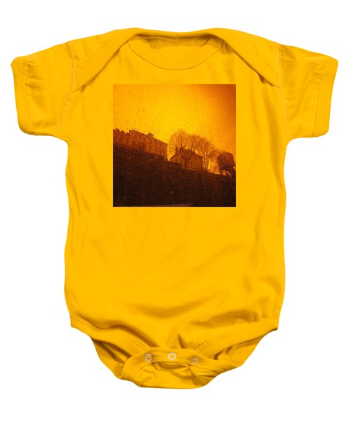 Stockholm The Heights Of South In Silhouette Baby Onesie