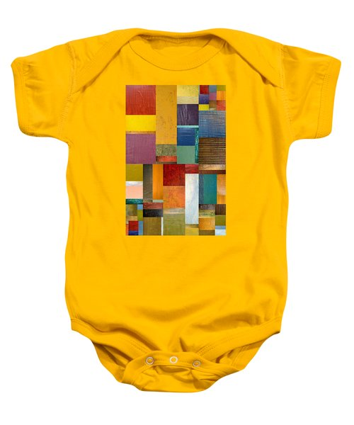 Strips And Pieces Ll Baby Onesie