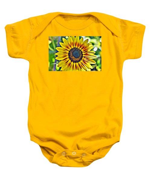Sun Burst  Baby Onesie