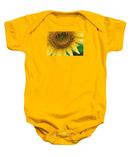 Sunflower Smiles Baby Onesie