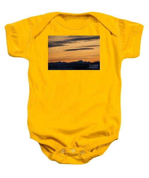 Sunset From 567 Baby Onesie