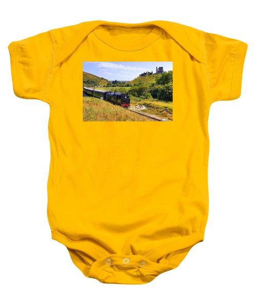 Swanage Steam Railway Baby Onesie