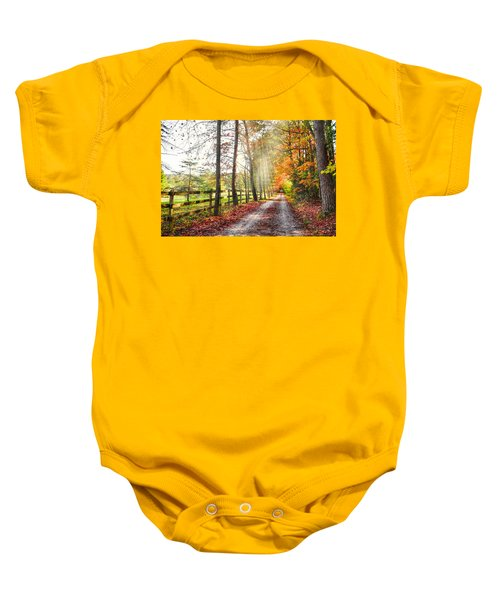 Take The Back Roads Baby Onesie