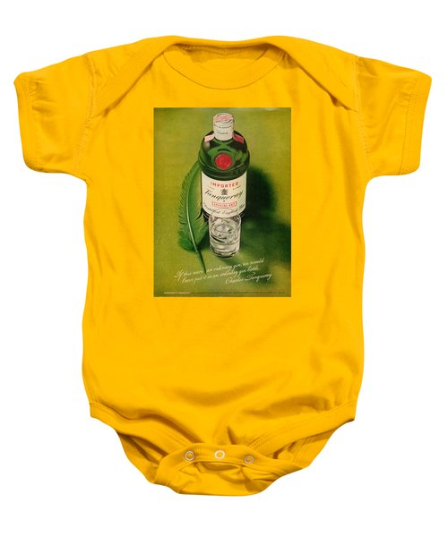 Tanqueray Gin Baby Onesie