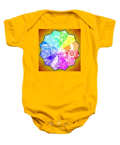 The Age Of Pisces Baby Onesie